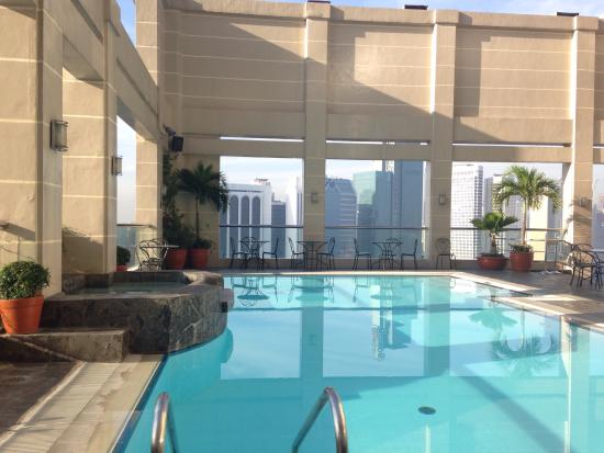 Rooftop pool Picture of City Garden Hotel Makati Makati