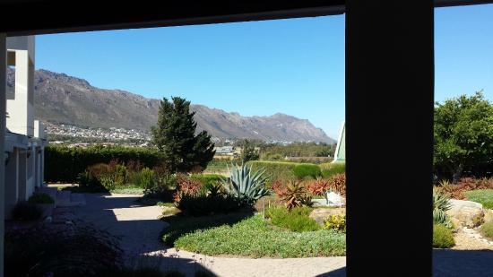 Κόλπος Gordon, Νότια Αφρική: Uitzicht vanaf de ontbijtruimte