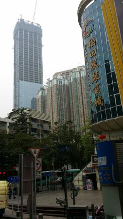 Chaohai Hotel : Laojie commercial complex.