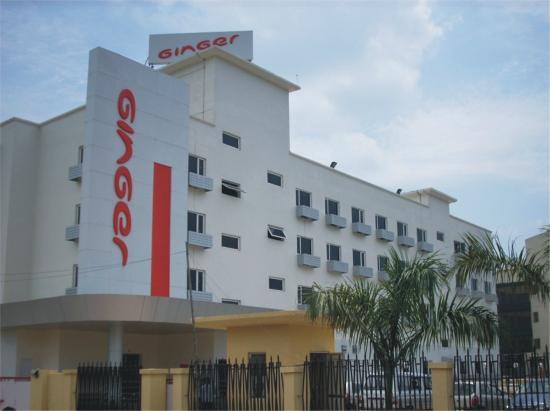 Ginger Hotel Guwahati: Facade