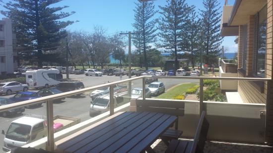 Wyuna Beachfront Holiday Apartments : view from verandah