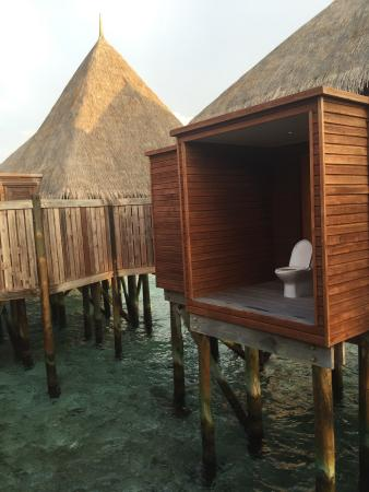Rangali Island: Toilettes du spa retreat
