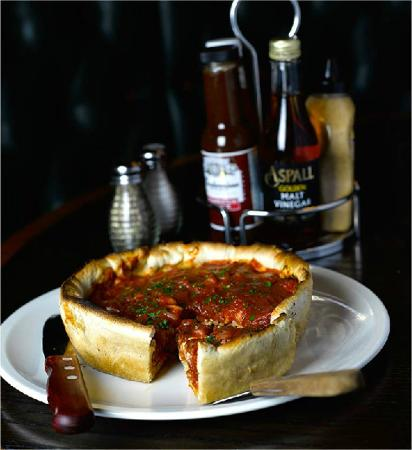 The Filling Station: Chicago Deep Dish Pizza