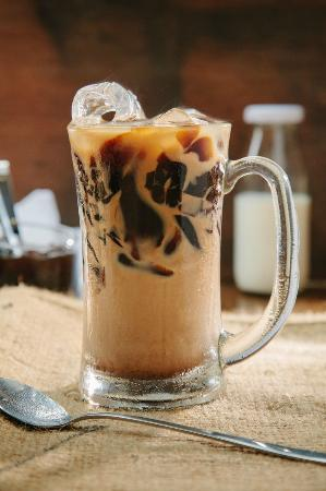 Iced Coffee Jelly - Picture of Macehat Coffee, Medan ...