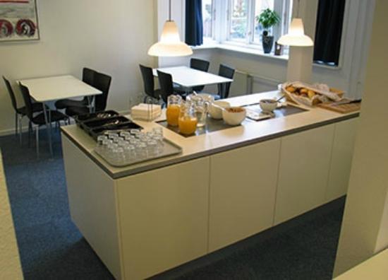 BB-Hotel Vejle, Park Hotel: Gratis morgenmad