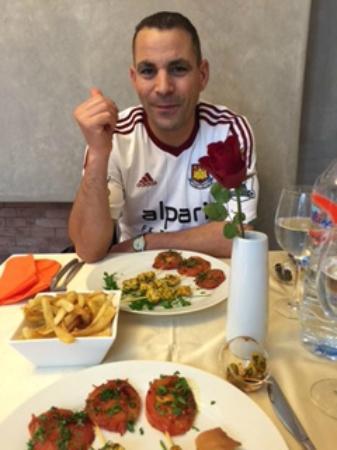 Riad Vanilla sma: Lunch