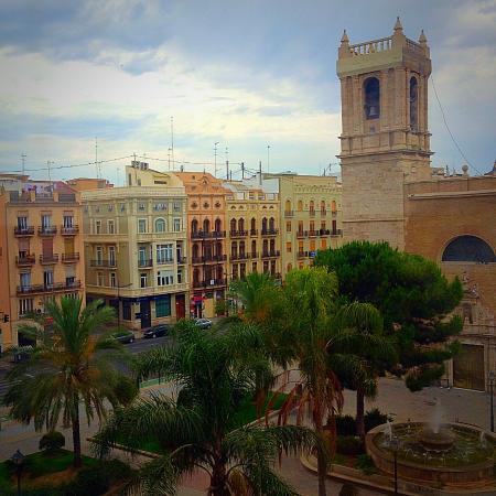 Hotel Marina Atarazanas: Вид из номера