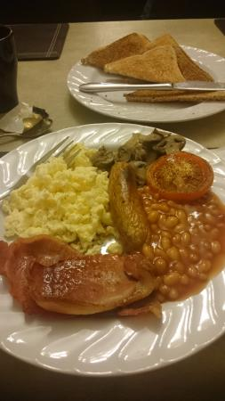 Throstles Nest Hotel: breakfast!