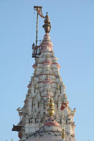 Sujangarh, Indien: 100 fy heigh Dhawj
