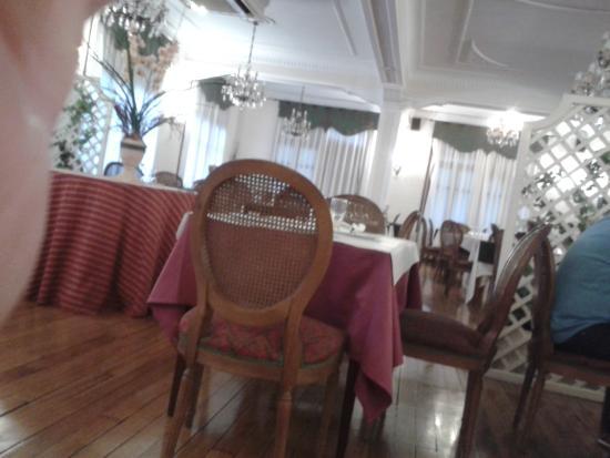 Hotel Zarauz: Ambiente años 50 con su encanto.