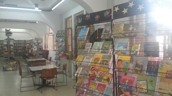 Biblioteca Lucília Minssen e Ludoteca