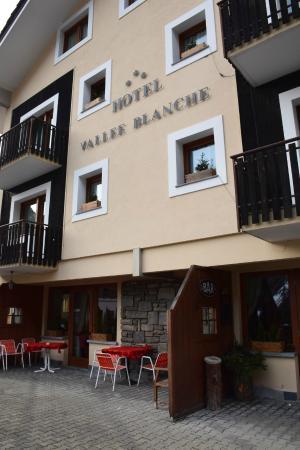 Hotel Vallee Blanche : La facciata