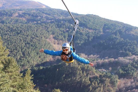Parques de Tirolesa e de Aventura Aérea