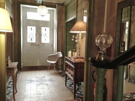 L'hôtel Ascott : Hall d'entrée