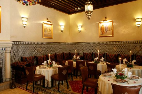Riad Kniza: Dining Room