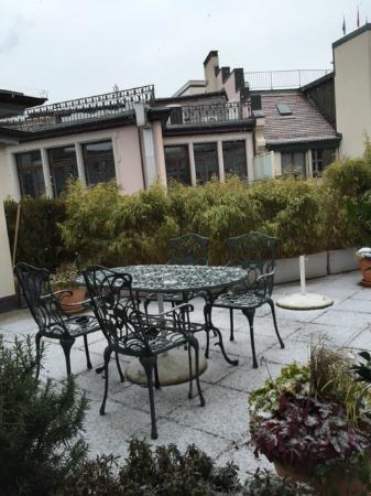 Hotel City Zürich: roof view