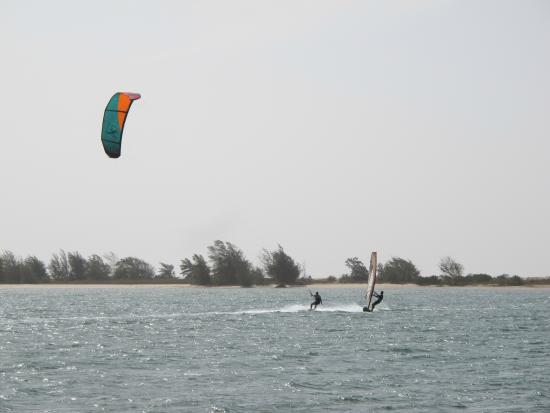 Walking On Water Kite Club : Kiting and Windsurfers love our spot