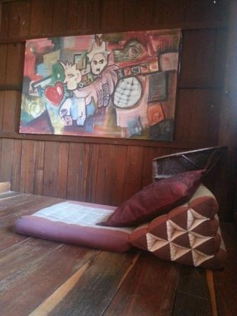 Julie Guest House : Espace détente