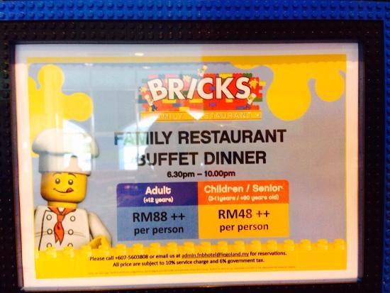Legoland Food Reviews