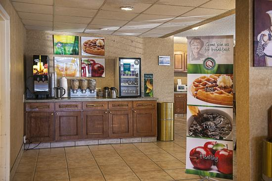 Quality Inn at Arlington Highlands : Juice Bar