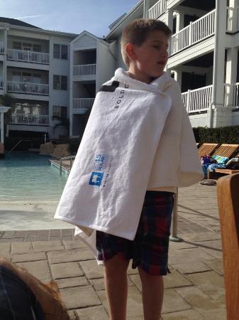 Turtle Cay Resort : Heated outdoor pool