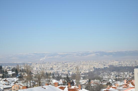 Hotel Bansko : Ausblick auf Sofia