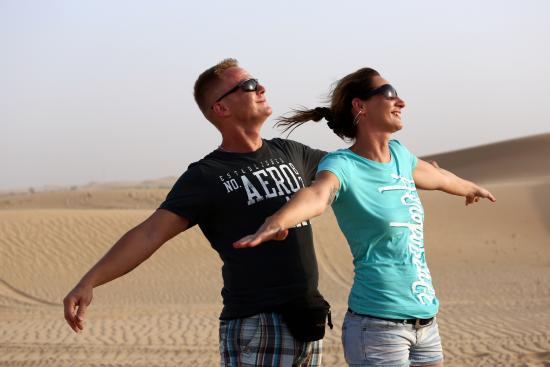 Emirates Tours and Safaris : Titanic in Desert