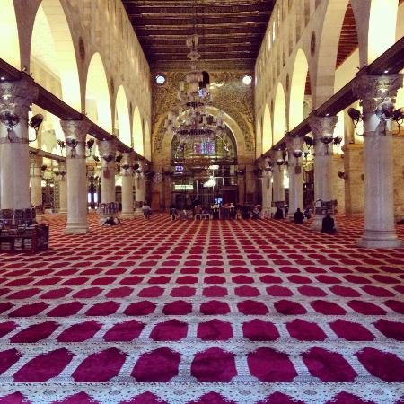 Al Aqsa Mosque: Inside Masjid Al Aqsa