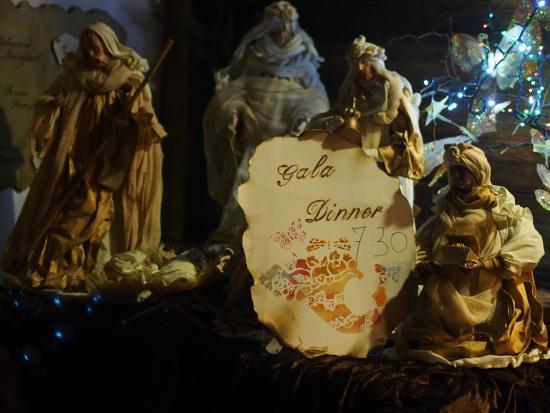 Hotel Il Caminetto: В честь рождества поставили такой вертеп