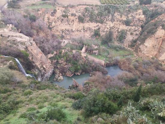 Chella, Spanyol: Vistas desde la terraza