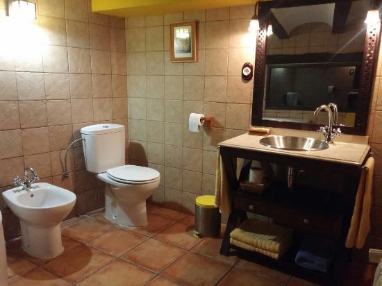 Chella, Испания: Nivel superior de la habitación amarilla