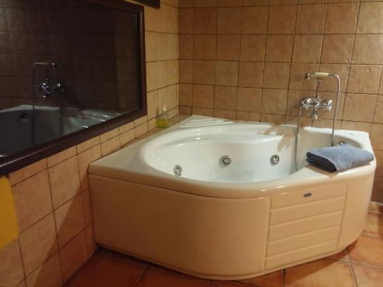 Chella, Spain: La bañera con hidromasaje!