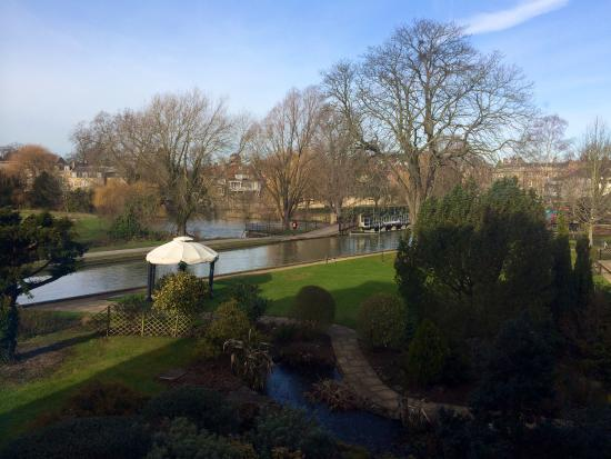 Doubletree by Hilton Cambridge City Centre: Nice view room 126