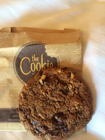 Doubletree by Hilton Cambridge City Centre: Complimentary cookie