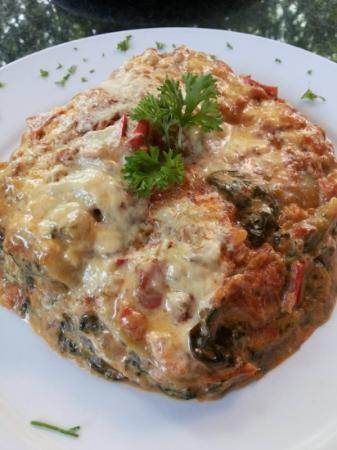 L'Orchidee Restaurant : delicious veggie lasagna