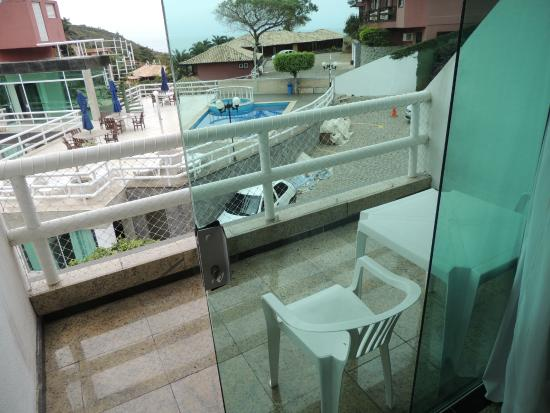 Hotel Pousada Experience Joao Fernandes : Sacada