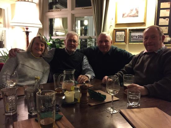 Hand and Trumpet: Old friends return - pub is like home from home