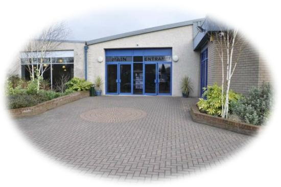 The Vine Conference Centre: The main entrance