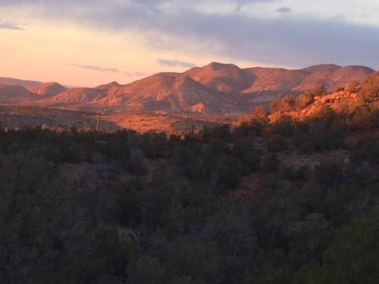 New Mexico Rails-to-Trails: View from Grandview Trail in High Rolls NM
