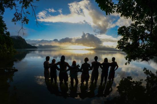 Laguna Miramar: recibiendo el año con un lugar mágico
