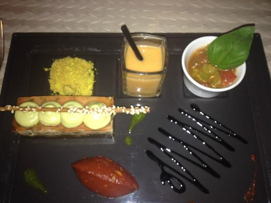 un delice. - picture of la table des delices, grignan - tripadvisor
