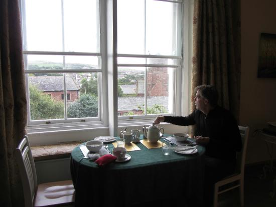 Abbey Farm House: Breakfast with a view