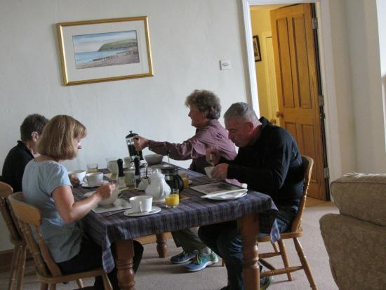 Abbey Farm House: Getting to know fellow travelers over breakfast