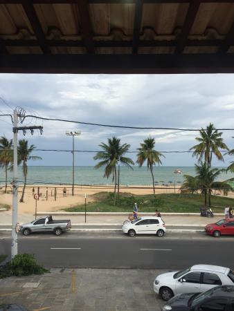 Hotel Pousada Tamandaré : Vista da janela do quarto