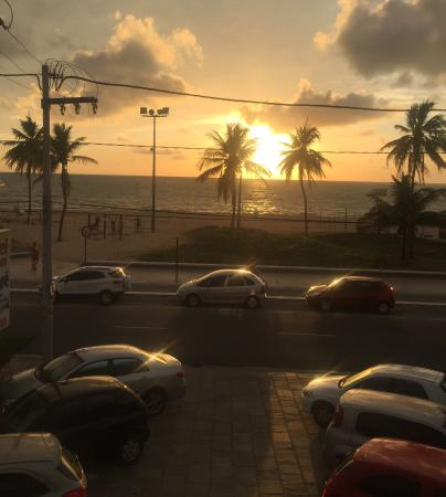 Hotel Pousada Tamandaré : Sol nascendo