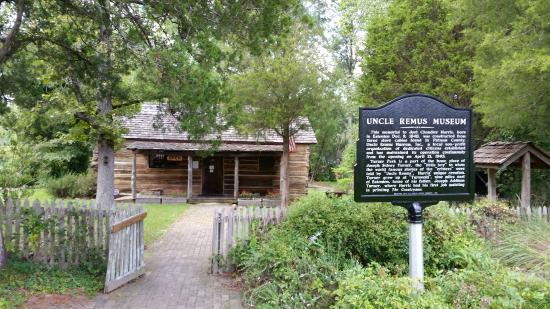 Uncle Remus Museum: Outside of the Museum