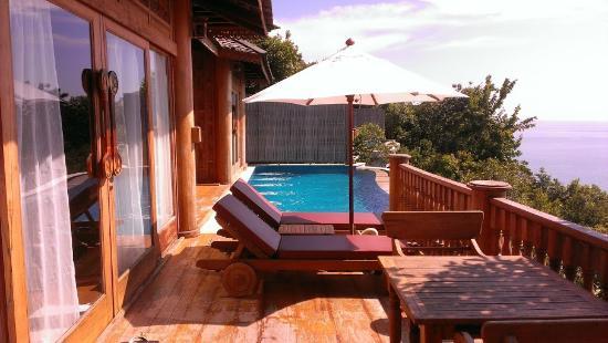Santhiya Koh Yao Yai Resort & Spa: Suite private deck