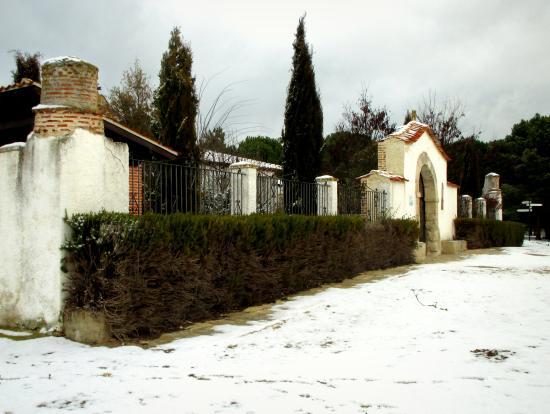 Ermita de Nuestra Senora de Compasco: Ermita de Compasco nevada