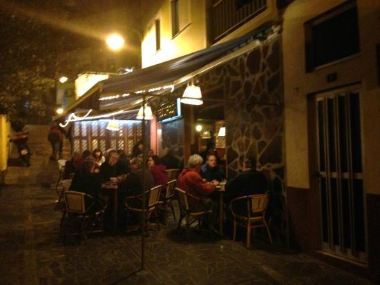 Restaurante Abisinia: Efter en trevlig kväll