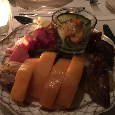 Tiffin Lounge (Grand Hyatt Hong Kong): Melon & Parma ham
